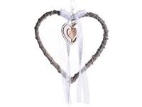 Závěs proutí 270 mm Srdce v srdci