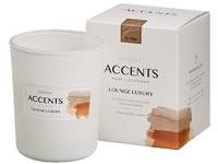 Bolsius ACCENTS Sklo 76x92/ Lounge Luxury vonná svíčka