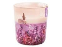 Bolsius sklo 73/80mm Stínohra Levandulová Provence vonná svíčka