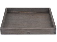 Tác dřevo 250x250 mm, patina