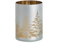 YANKEE CANDLE WINTER TREES SVÍCEN NA SKLO