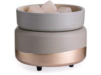 Candle Warmers elektrická aromalampa a ohřívač svíček 2v1 Midas