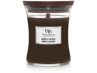 WoodWick Amber & incense váza střední