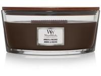 WoodWick Amber & incense svíčka loď