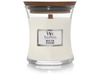 Woodwick White Teak váza malá