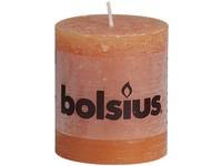 Bolsius Rustic Válec 68x80 oranžová svíčka