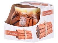 Sklo Dekor 80 x 72 mm Cinnamon vonná svíčka