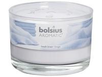 Bolsius Aromatic Sklo 90x65 Fresh linen vonná svíčka