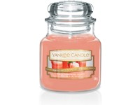 VONNÁ SVÍČKA YANKEE CANDLE WHITE STRAWBERRY BELLINI CLASSIC MALÝ
