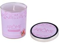 Svíčka sklo 70x80 mm Orchid & Pomegranate vonná svíčka s plech. víčkem