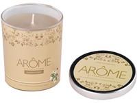 Svíčka sklo 70x80 mm White jasmine & honey vonná svíčka s plech. víčkem