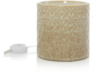 YC.Belmont Lattice Glazed Ceramic/Scenterpiece aromalampa
