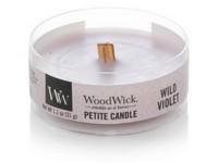 WoodWick Wild Violet svíčka petite