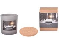 Svíčka ve skle 75x80 mm s korkovým víčkem vonná Finland White Birch