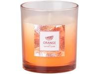 Svíčka ve skle 80x90 mm vonná Orange