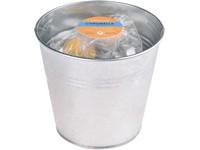 Citronella čajová svíčka 40 ks v plechovém kyblíku