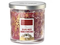 VONNÁ SVÍČKA YANKEE CANDLE RED APPLE WREATH LIMITED DÉCOR MALÝ