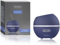 Millefiori Hydro ultrazvukový difuzér skleněný Half Sphere Blue