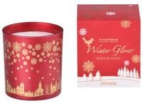 Svíčka ve skle 80x90 mm vonná, v dárkové krabičce Winter Spice