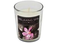 Svíčka ve skle 60 g Relaxing Spa, vonná