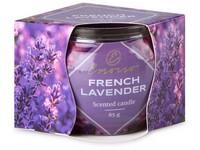 Emocio Sklo Dekor 70x62 mm French Lavender, vonná svíčka