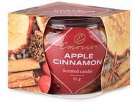 Emocio Sklo Dekor 70x62 mm Apple Cinnamon, vonná svíčka