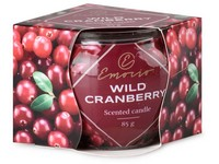 Emocio Sklo Dekor 70x62 mm Wild Cranberry, vonná svíčka