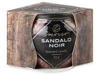 Emocio Sklo Dekor 70x62 mm Sandalo Noir, vonná svíčka