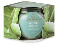 Emocio Sklo Dekor 70x62 mm Aloe Vera, vonná svíčka