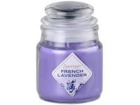 Emocio Sklo 57x85 mm se skleněným víčkem French Lavender vonná svíčka