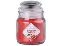 Emocio Sklo 57x85 mm se skleněným víčkem Spiced Apple vonná svíčka