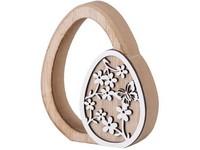 Dřevěná dekorace 100x20x115 mm kraslice