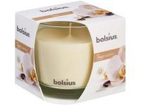 Bolsius Aromatic 2.0 Sklo 95x95mm Vanilla, vonná svíčka