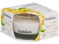 Bolsius Aromatic 2.0 Sklo 80x50mm Feel happy, vonná svíčka