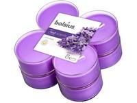 Bolsius Aromatic 2.0 Čajové Maxi 8ks Lavender, vonné svíčky