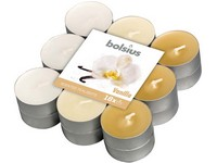 Bolsius Čajové 18ks Vanilla tříbarevné, vonné svíčky