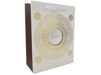 Taška dárková 100x150 mm mandala zlatá ražba