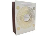 Taška dárková 180x230 mm mandala zlatá ražba
