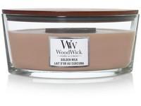 WoodWick Golden Milk svíčka loď