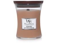 WoodWick Golden Milk svíčka střední
