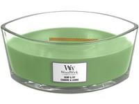 WoodWick Hemp & Ivy svíčka loď