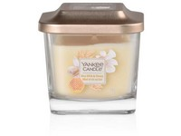 VONNÁ SVÍČKA YANKEE CANDLE ELEVATION RICE MILK & HONEY HRANATÁ MALÁ 1 KNOT