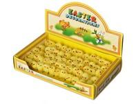 Kuře 60 ks, 30 mm žluté, box