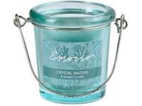 Emocio Sklo zelené 49x66 mm Crystal waters vonná svíčka