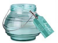 Emocio Sklo zelené 115x100 mm Crystal waters vonná svíčka
