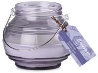 Emocio Sklo fialové 115x100 mm Island Spa vonná svíčka