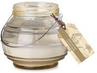 Emocio Sklo žluté 115x100 mm Fresh cotton vonná svíčka