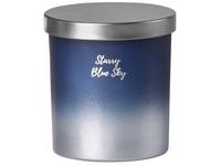 Emocio sklo 80x90 mm s plechovým víčkem vonná svíčka, v dárkové krabičce Starry Blue Sky