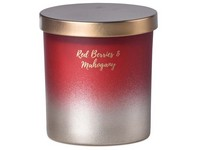 Emocio sklo 80x90 mm s plechovým víčkem vonná svíčka, v dárkové krabičce Red Berries & Mahogany