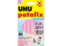 UHU Patafix Pastel Pink 80 ks